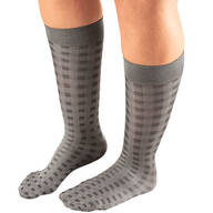 Celeste Stein Woven Trouser Socks, 8–15 mmHg