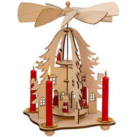Christmas Choir Candle Holder