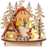 Christmas LED Snow House