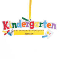 Personalized Kindergarten Ornament