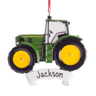 Personalized John Deere® Tractor Ornament
