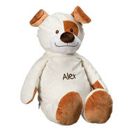 Personalized Stuffed Puppy
