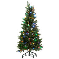 4-Foot Tree with C6 Bulbs by Northwoods™
