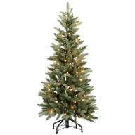 4-Foot Blue Spruce Tree with Lights by Northwoods™