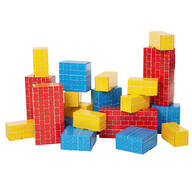 Melissa & Doug® Jumbo Cardboard Blocks, Set of 24