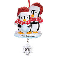 "Personalized ""We're Expecting"" Ornament"