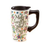 Travel Mug Make Every Day a Good Day