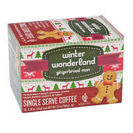 Gingerbread Man Single Serve Coffee, Set of 10