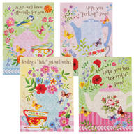 Get Well Cards, Set of 12
