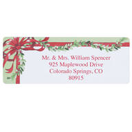 Christmas Blessings Address Labels Set of 200