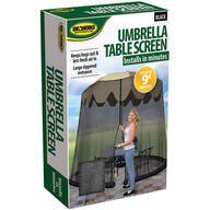 Umbrella Table Screen