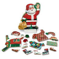 Melissa & Doug® Santa Claus Magnetic Pretend Play