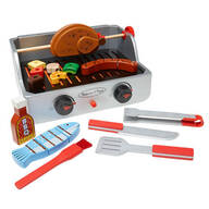 Melissa & Doug® Wooden Rotisserie & Grill Barbeque Set