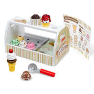 Melissa & Doug® Scoop & Serve Ice Cream Counter