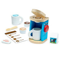 Melissa & Doug® Wooden Brew & Serve Coffee Set