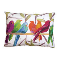 "24""x18"" Flocked Together Indoor/Outdoor Throw Pillow"