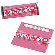 Personalized Candy Bar Wrappers Valentines