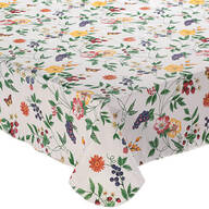 Enchanted Garden Premiun Vinyl Tablecover