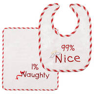 99% Nice Bib & Burp Cloth Set