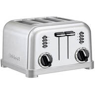 4 Slice Classic Metal Toaster