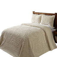 Rio Chenille Bedding Ivory