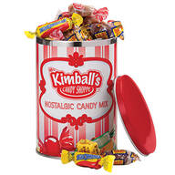 Mrs. Kimball's Candy Shoppe Nostalgic Candy Mix Tin & Refill