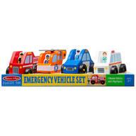 Melissa & Doug® Emergency Vehicle Set