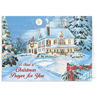 Personalized I Said A Christmas Prayer Card Set of 20