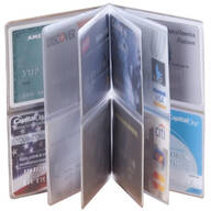 Credit Card Insert For Wallet - 12 Sleeve