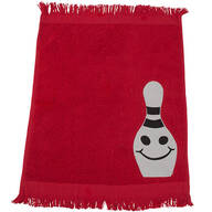 Personalized Bowling Towel - Smiling