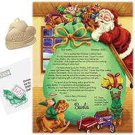 Personalized Letter From Santa and Ornament