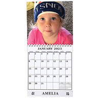 Personalized Photo Calendar Single Copy