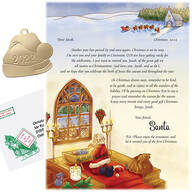 Personalized Inspirational Santa Letter and Ornament