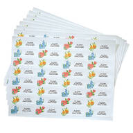 Floral Address Labels - 250