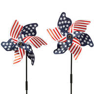 Patriotic Pinwheel - Set of 2