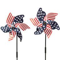 Patriotic Pinwheel - Set of 2