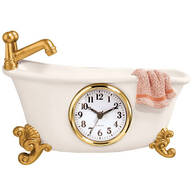 Claw Foot Style Bathtub Clock