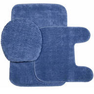 Plush Bath Rug Set