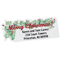 Merry Christmas Labels - Set of 250