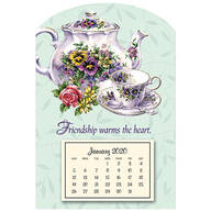 Mini Magnetic Teapot Calendar
