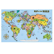 Magnetic Map Puzzle