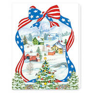 Red, White, and Blue Wishes Card Set