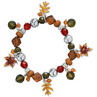 Autumn Leaf Stretch Bracelet