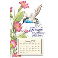Mini Magnetic Hummingbird Calendar