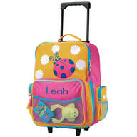 Personalized Ladybug Rolling Luggage