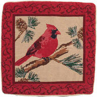 Cardinal Pillow Cover