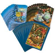 Doug Knudson Christmas Cards Collection Set of 60