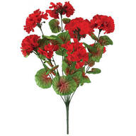 All-Weather Red Geranium Bush by OakRidge™ Outdoor