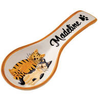 Personalized Cat Spoon Rest