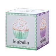 Personalized Cupcake Self-Stick Note Cube